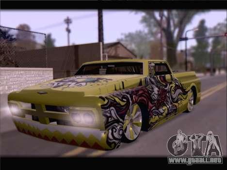 New Slamvan para visión interna GTA San Andreas