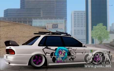 Mitsubishi Galant 1992 para GTA San Andreas left