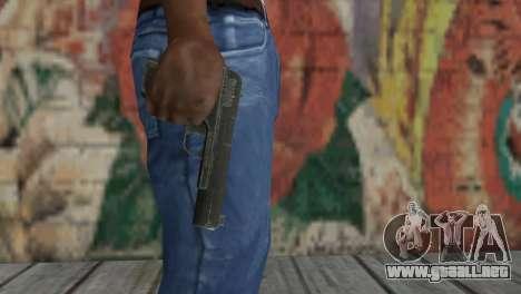 Pistola TT para GTA San Andreas segunda pantalla
