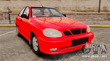 FSO Lanos Plus 2007 Limited Version para GTA 4