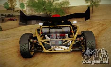 Ariel Atom 500 2012 V8 para la visión correcta GTA San Andreas
