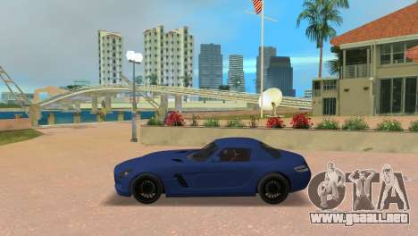 Mercedes-Benz SLS AMG V12 para GTA Vice City left