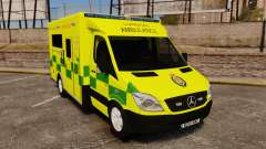 Mercedes-Benz Sprinter [ELS] London Ambulance para GTA 4