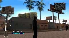 C-HUD Aztecaz para GTA San Andreas