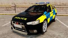 Mitsubishi Lancer Evolution X Uk Police [ELS]