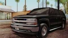 Chevrolet Suburban FBI SUV para GTA San Andreas