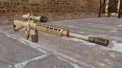 El rifle de sniper M110 SASS