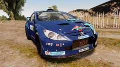 Peugeot 307 WRC para GTA 4