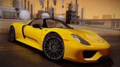 Porsche 918 Spyder 2014 para GTA San Andreas
