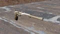 La pistola semiautomática AMT Hardballer