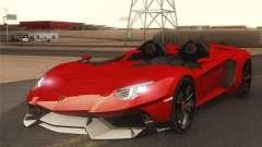 Lamborghini Aventador J 2012 v1.0 para GTA San Andreas