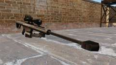 El francotirador Barrett M82 rifle 50 Cal