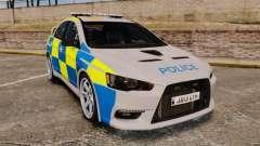 Mitsubishi Lancer Evolution X Police [ELS]