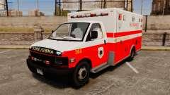 Brute Ambulance FDLC [ELS] para GTA 4