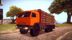 Portador de madera 54115 KAMAZ para GTA San Andreas