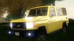 Toyota Land Cruiser Machito 2013 6Puertas 4x4 para GTA San Andreas