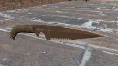Cuchillo MW3 para GTA 4