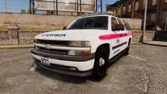 Chevrolet Suburban 2003 AMR [ELS] para GTA 4