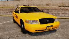 Ford Crown Victoria 1999 NYC Taxi para GTA 4