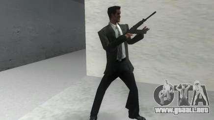 Con escopeta Saiga 12 k para GTA Vice City