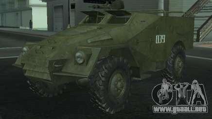 BTR-40 para GTA San Andreas