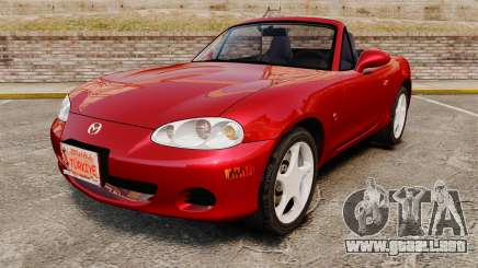 Mazda (Miata) MX-5 para GTA 4