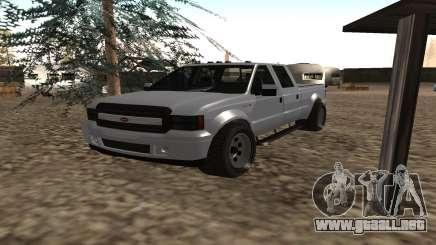 Sadler de GTA 5 para GTA San Andreas