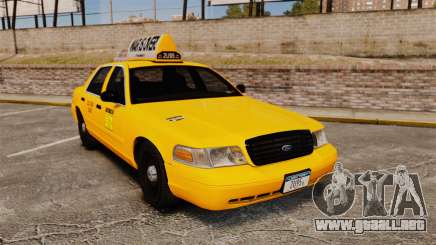 Ford Crown Victoria 1999 LCC Taxi para GTA 4