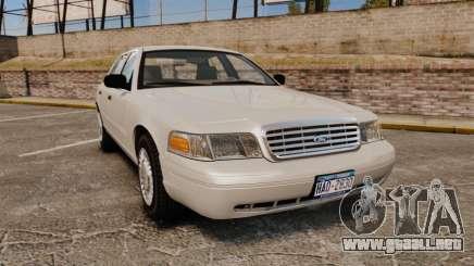 Ford Crown Victoria 1998 v1.1 para GTA 4