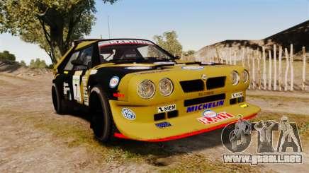 Lancia Delta S4 GroupB para GTA 4