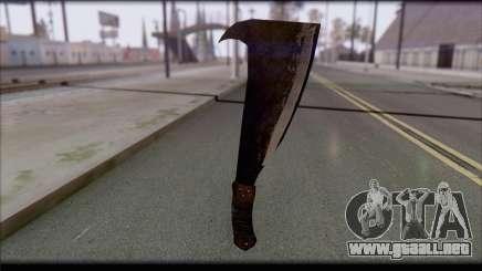 Machete para GTA San Andreas