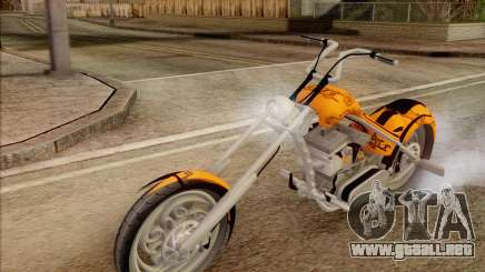Sons Of Anarchy Chopper Motorcycle para GTA San Andreas