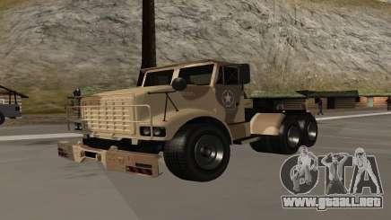 GTA V Barracks Semi para GTA San Andreas