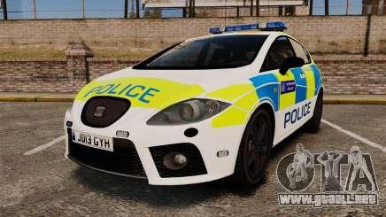 Seat Cupra Metropolitan Police [ELS] para GTA 4