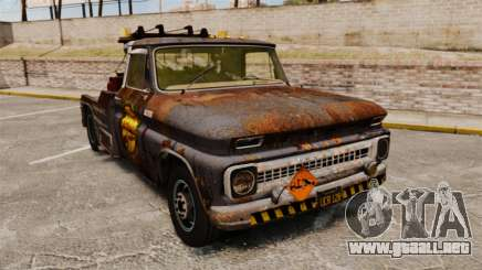 Chevrolet Tow truck rusty Stock para GTA 4