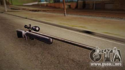Rifle de francotirador de Max Payn para GTA San Andreas