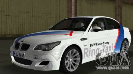 BMW M5 (E60) 2009 Nurburgring Ring Taxi para GTA Vice City