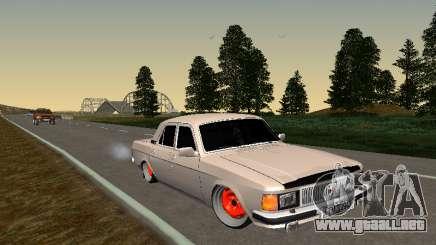 GAZ 3102 postura para GTA San Andreas
