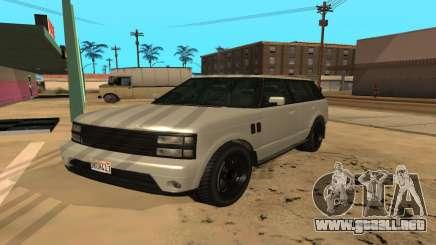 Baller GTA 5 para GTA San Andreas