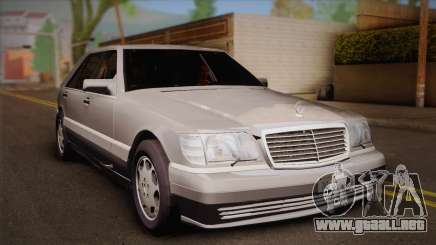 Mercedes-Benz S600 V12 Custom para GTA San Andreas