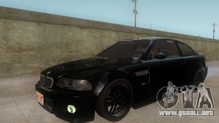 BMW M3 e46 Duocolor Edit para GTA San Andreas