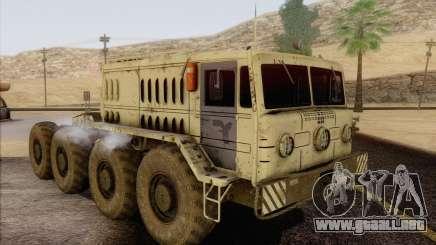 MAZ 535 blanco para GTA San Andreas