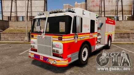 Firetruck FDLC [ELS] para GTA 4