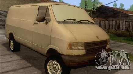 Dodge RAM Van 1500 para GTA San Andreas