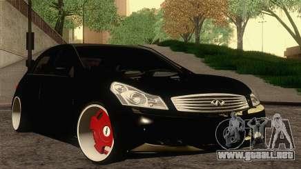Infiniti G37 para GTA San Andreas