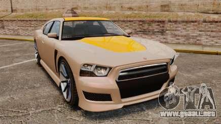GTA V Bravado Buffalo Supercharged para GTA 4