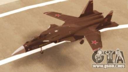 Su-47 Berkut v1.0 para GTA San Andreas