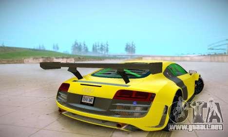 Audi R8 LMS Ultra v1.0.0 para la visión correcta GTA San Andreas