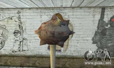Spikes Hammer para GTA San Andreas segunda pantalla
