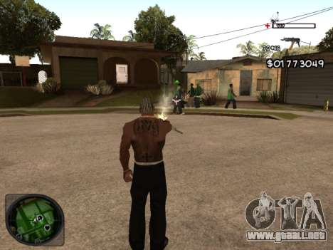 C-HUD by Azov para GTA San Andreas